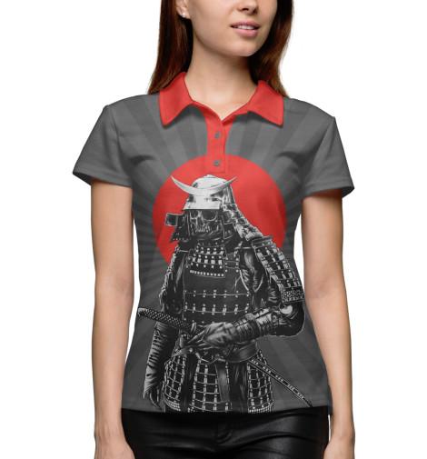 где купить Поло Print Bar Мертвый самурай по лучшей цене