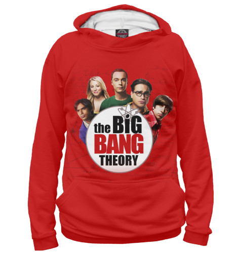 Худи Print Bar The Big Bang Theory the big bang theory series the flash design cotton t shirt red size m