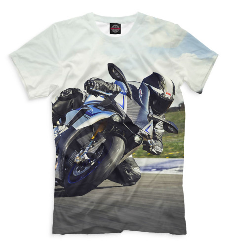 Мужская футболка Мотоциклист