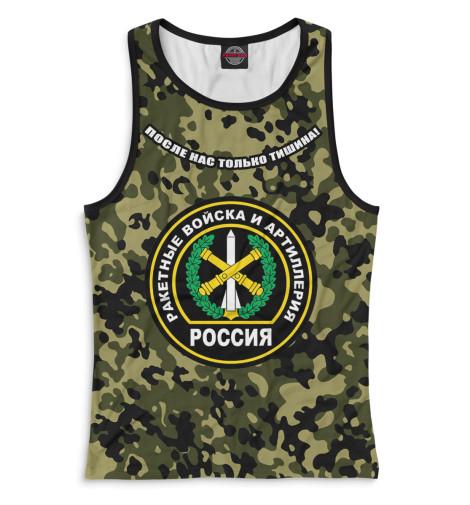 Майка борцовка Print Bar Ракетные войска и артиллерия