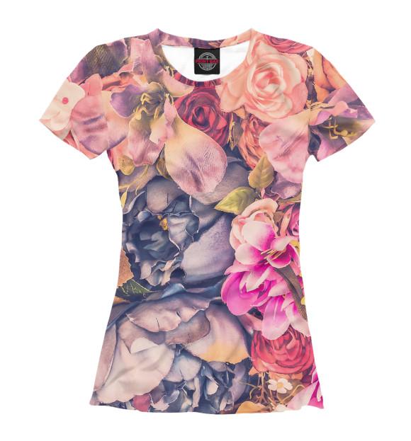Купить Женская футболка Vintage Flower CVE-332598-fut-1