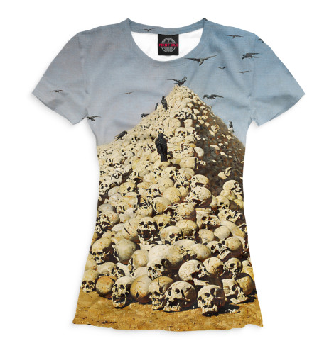 Женская футболка Апофеоз войны