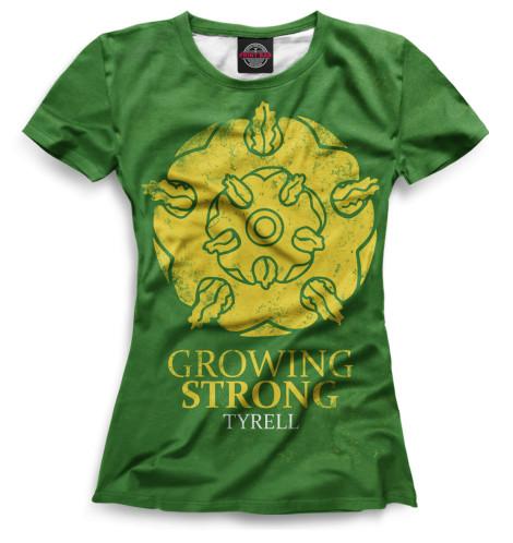 Женская футболка Символ Тиреллов