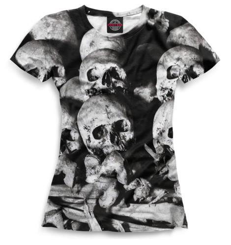 Футболка Print Bar Skull худи print bar skull