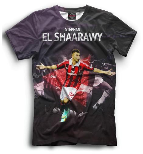 Мужская футболка Стефан Эль-Шаарави