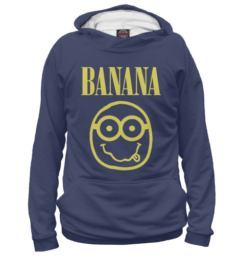 Худи Print Bar Banana Nerd поло print bar banana