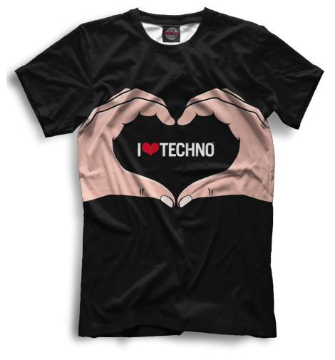 Мужская футболка Techno