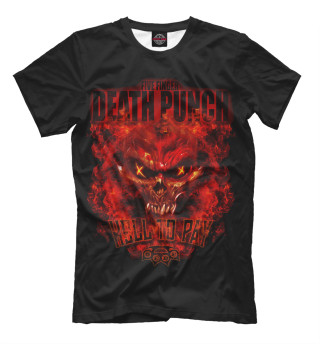 Мужская футболка Five Finger Death Punch Hell To Pay