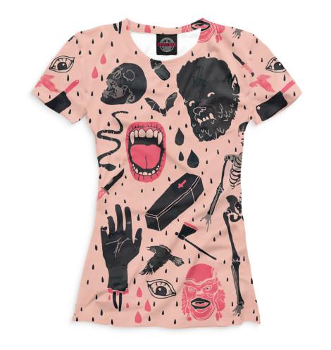 Женская футболка Ужасы