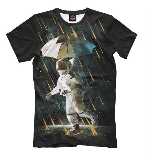 Футболка Print Bar Космический дождь