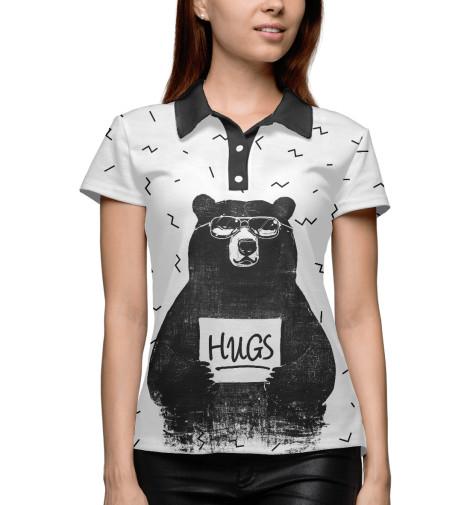 Поло Print Bar Bear Hugs комплекты в кроватку mummys hugs звездный 13 предметов