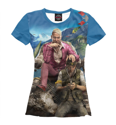 Футболка Print Bar Far Cry 4 — Пэйган Мин far cry 4
