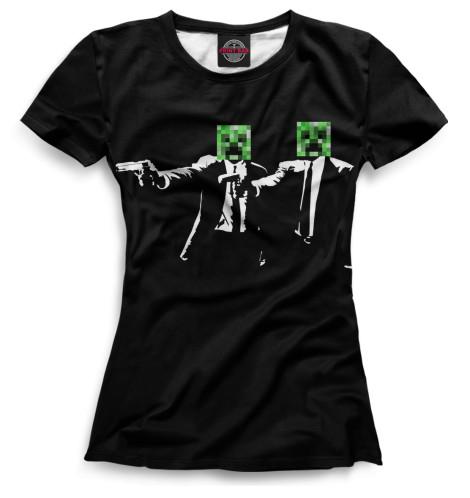 Женская футболка Minecraft