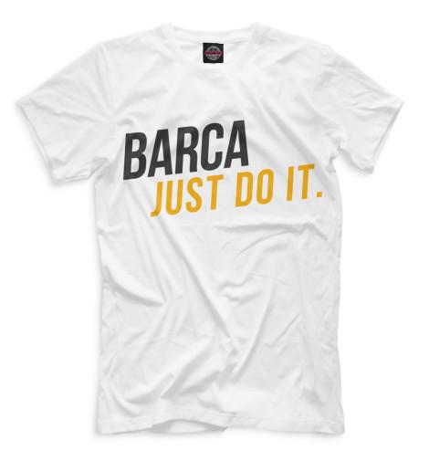 Мужская футболка Barca