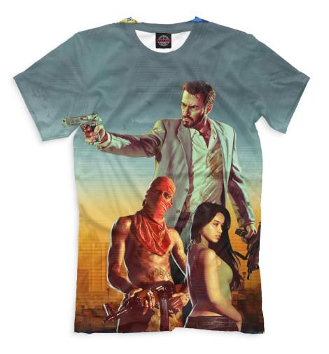 Мужская футболка Max Payne 3
