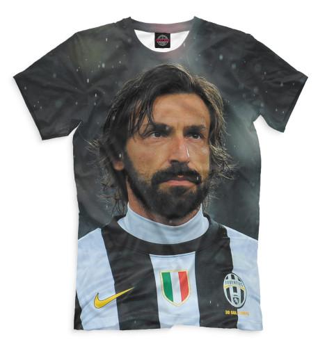 Мужская футболка Пирло