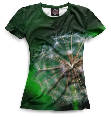 Женская футболка Одуванчик