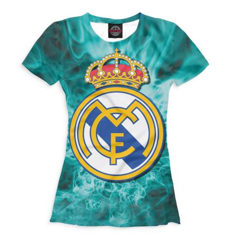 Женская футболка Герб Real Madrid