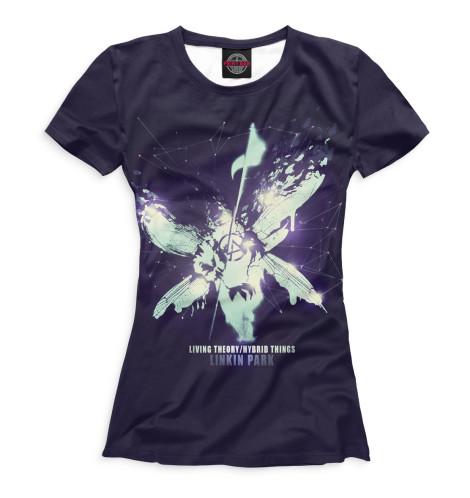 Женская футболка Hybrid Theory