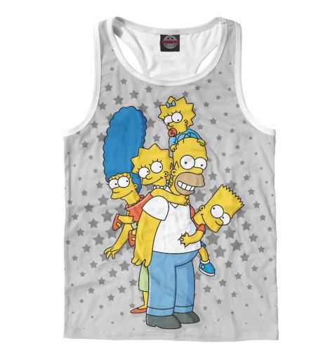 Майка борцовка Print Bar The Simpsons майка борцовка print bar the day is my enemy