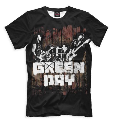 Мужская футболка Green Day