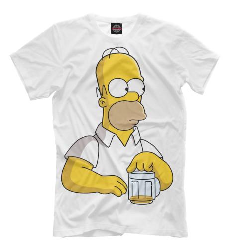 Купить Футболка для мальчиков Homer SIM-729897-fut-2