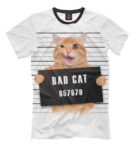 Футболка Print Bar Плохой кот футболка стрэйч printio плохой кот