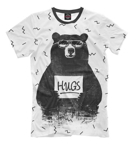 Футболка Print Bar Bear Hugs комплекты в кроватку mummys hugs звездный 13 предметов