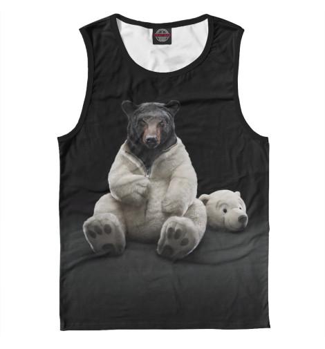 Купить Майка для мальчика Медведь MED-106258-may-2