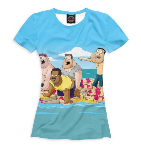 Женская футболка Гриффины