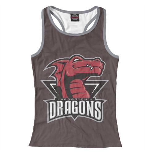 Майка борцовка Print Bar Targaryen Dragons майка борцовка print bar звёздный лорд