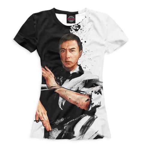 Женская футболка Шаолинь