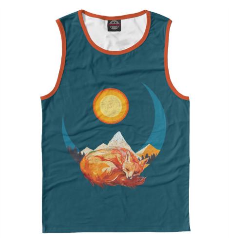 Купить Майка для мальчика Лунная лиса FOX-952677-may-2