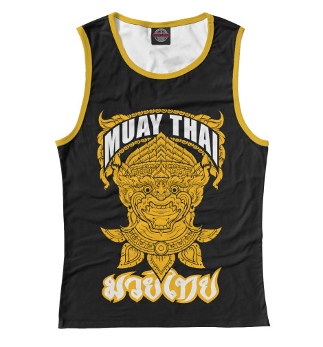 Майка Print Bar Muay Thai Fighter свитшот print bar muay thai boxing