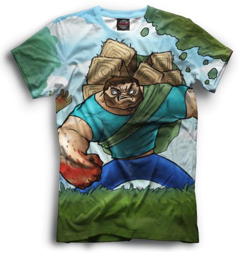 Купить Мужская футболка Minecraft MCR-340299-fut-2