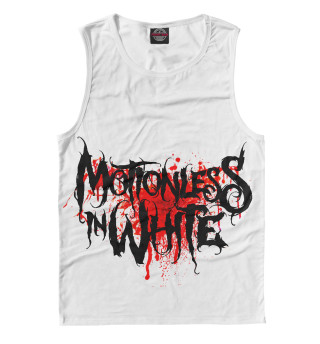 Мужская майка Motionless In White Blood Logo