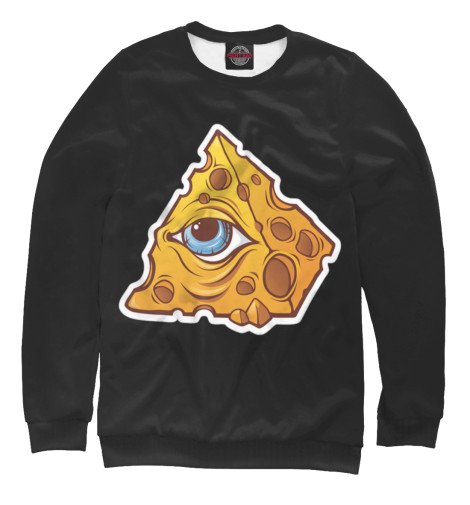Свитшот Print Bar Illuminati cheese