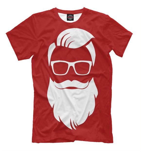 Купить Мужская футболка Санта Хипстер NOV-613159-fut-2