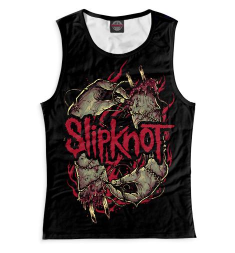 Женская майка Slipknot