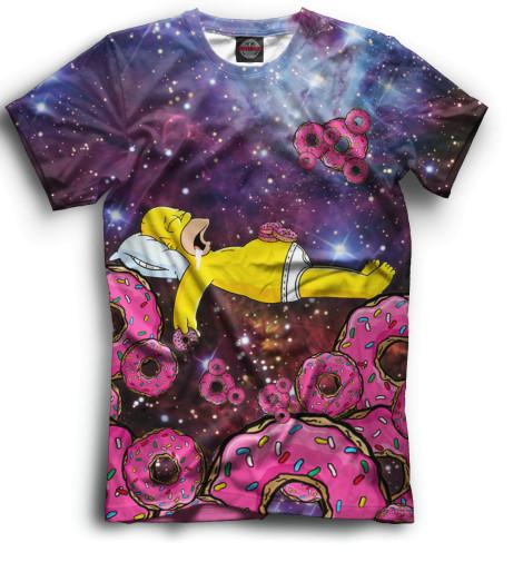 Купить Мужская футболка Гомер SIM-841343-fut-2