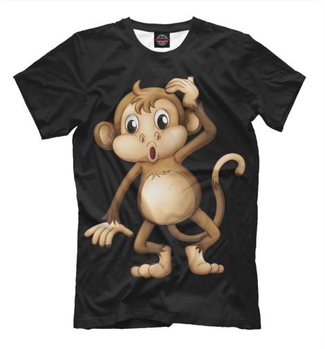 Купить Мужская футболка Футболка Обезьянка APD-500633-fut-2
