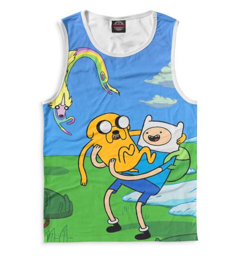 Мужская майка Adventure Time