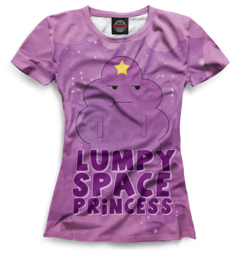 Женская футболка Принцесса Пупырка