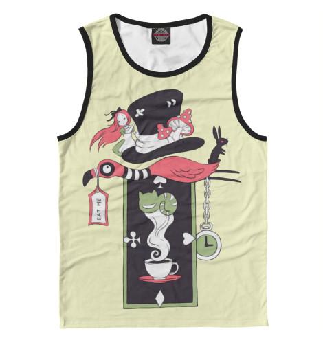 Майка Print Bar Алиса в стране чудес футболка классическая printio алиса в стране чудес