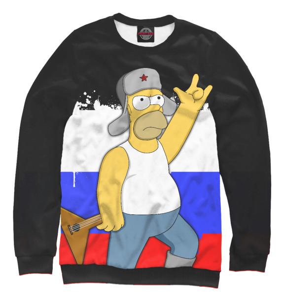 Купить Мужской свитшот Russian Homer SIM-211729-swi-2