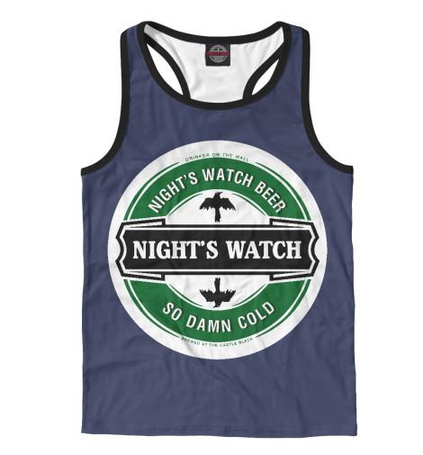 Майка борцовка Print Bar Nights Wacth white nights