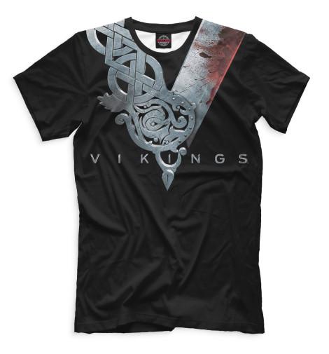 Мужская футболка Викинги