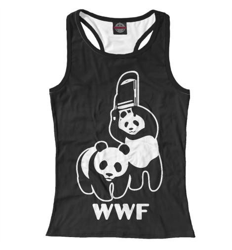 Майка борцовка Print Bar WWF Panda wwf wwf wwf997