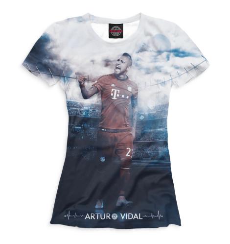 Женская футболка Видаль