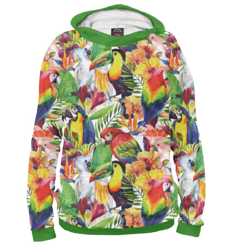 Худи Print Bar Попугаи шорты print bar попугаи